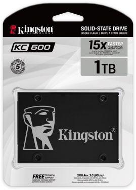 """Kingston KC600 1024GB 2.5"""" SATA lll SSD (Read Speed 550MB/s)"""
