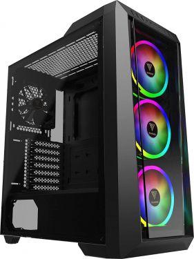 Gamdias TALOS M1 LITE Mid Tower Case (ATX,12cm RGB Fan x 3,RGB Sync)
