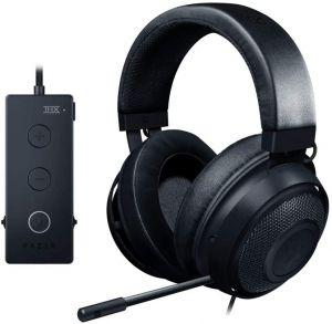 Razer Kraken Tournament Edition - Black Wired Gaming Headset with USB Audio Controller