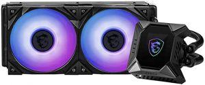MSI MPG CORELIQUID K240 RGB CPU Liquid Cooler