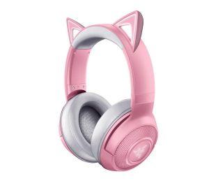 Razer Kraken BT Kitty Edition - Quartz Wireless Bluetooth Headset with Razer Chroma RGB