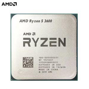 AMD RYZEN 5 3600 CPU (6 cores,12 Threads,4.2Ghz,32MB Cache)