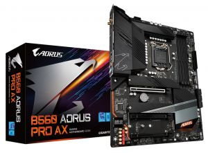 Gigabyte B560 AORUS PRO AX Motherboard (LGA 1200,4xDDR4 Slots,3xM.2 Slot,WIFI&BT)