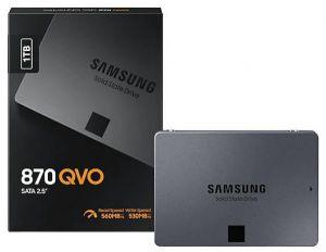 """Samsung 870 QVO 500GB 2.5"""" SATA lll SSD (Read Speed 560MB/s)"""