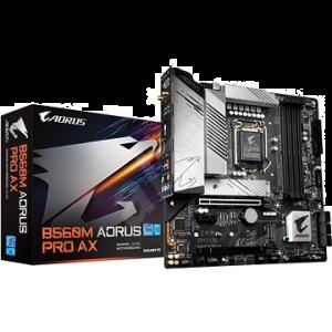 Gigabyte B560M AORUS PRO AX Motherboard l (LGA 1200,4xDDR4 Slots,2xM.2 Slot,WIFI&BT)