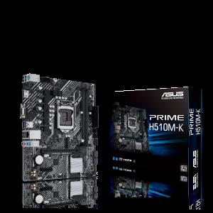 PRIME H510M-K MOTHERBOARD (LGA 1200,2xDDR4 Slots,1xM.2 Slot)