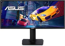 "ASUS VP348QGL 34"" UWQHD Gaming Monitor (75Hz,4ms,FreeSync)"
