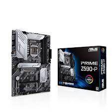 ASUS PRIME Z590-P MOTHERBOARD (LGA 1200,4xDDR4 Slots,3xM.2 Slot)