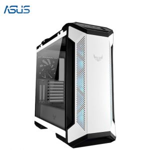 ASUS TUF Gaming GT501 White Edition (EATX,12cm RGB Fan x 3,Tempered Glass)