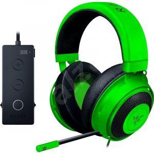 Razer Kraken Tournament Edition - Green Wired Gaming Headset with USB Audio Controller