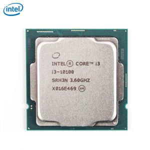 Intel Comet Lake i3 10100 CPU (4 cores,8 Threads,4.3Ghz,6MB Cache)