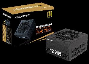 Gigabyte P1000GM 1000Watts 80 Plus Gold (Full Modular,Japan Capacitors)