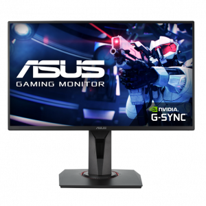 """ASUS VG258QR 24.5"""" Full HD TN Monitor (144Hz,0.5ms,G-sync Compatible)"""