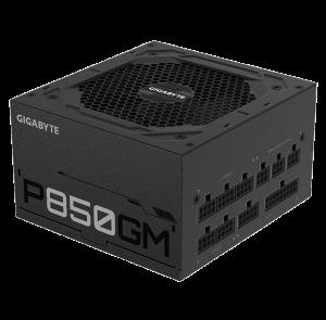 Gigabyte P850GM 850Watts 80 Plus Gold (Full Modular,Japan Capacitors)