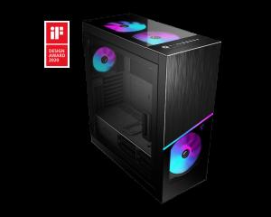 MSI MPG SEKIRA 500X Mid Tower Case (EATX,20cm RGB Fan x 3)