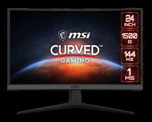 "MSI Optix G24C6 23.6"" Full HD VA Curved Monitor (144hz,1ms,Freesync)"