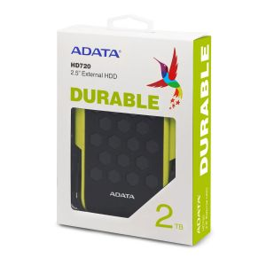 ADATA HD720 External HDD 2TB (USB 3.2 Gen1)