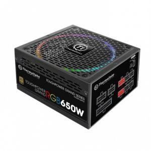 Thermaltake Toughpower Grand RGB 650W Power Supply (RGB Sync Edition,80 Plus Gold,Full Modular)