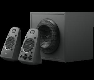 Logitech Z625 THX Speaker (400Watts,Optical Input)