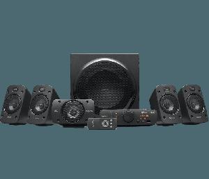 Logitech Z906 THX 5.1 Speaker (1000Watts,Surround Sound)
